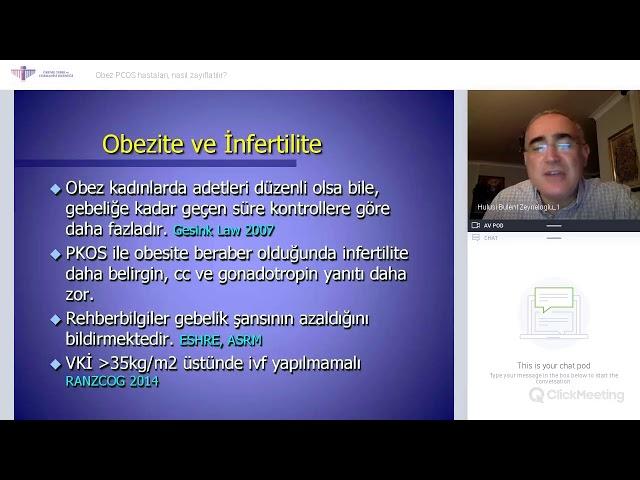 Prof.Dr. Hulusi Bülent Zeyneloğlu - Obez PCOS hastaları, nasıl zayıflatılır?