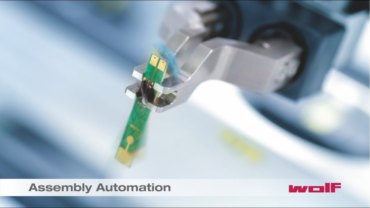 Automatische Montage - Assembly Automation - YouTube