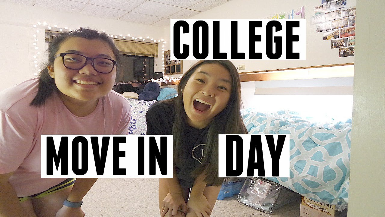 freshman college move in day freshman college move in day