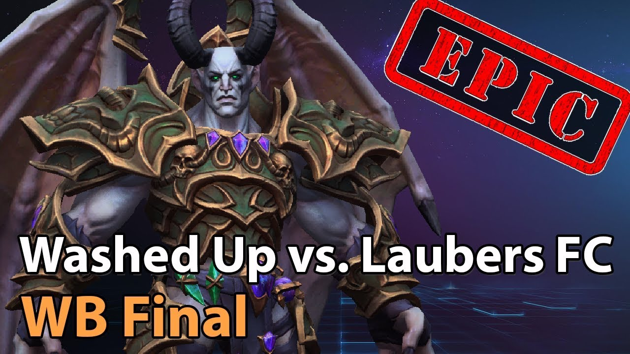 ► EPIC: Washed Up vs. Laubers Fanclub - Winner Bracket Final - Heroes of the Storm Esports