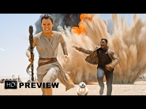 """ESCAPE"" - Star Wars: The Force Awakens - FULL CLIP (HD)"