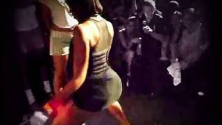 vuclip Funny! Big Girl Bounces Smaller Girl in Booty Shake Dance Contest