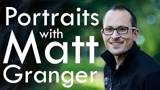 MATT GRANGER (with Tony & Chelsea) LIVE reviewing your portraits!