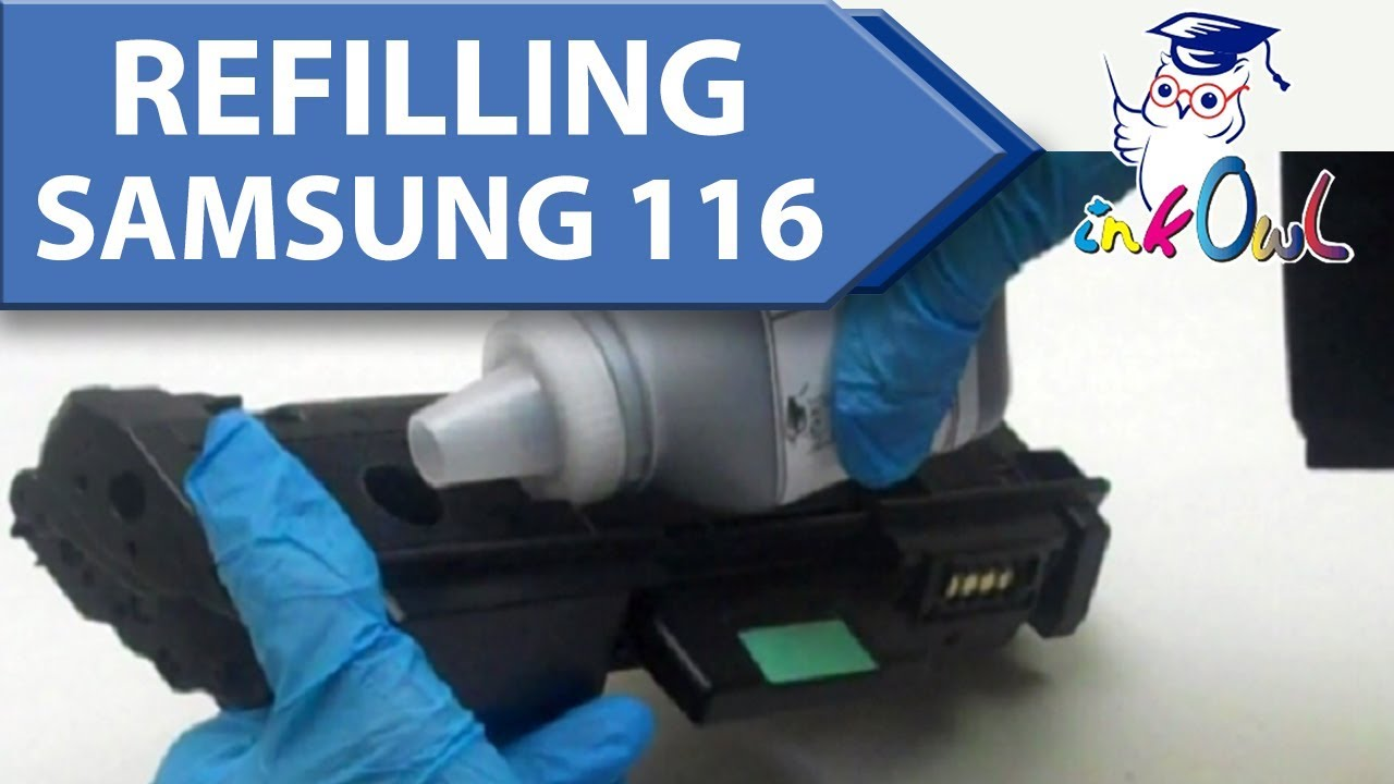 How to refill a samsung cartridge