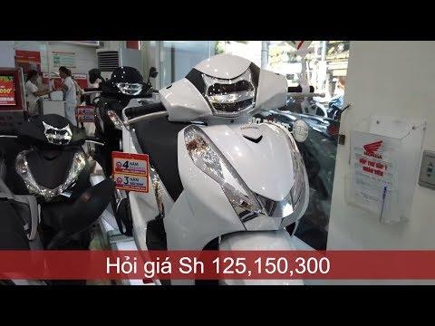 Hỏi giá xe Sh125i, 150i, 300i 2019 tại Honda Hồng Đức   Mekong today