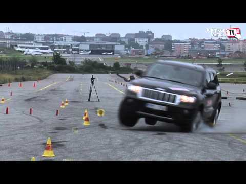 Jeep Grand Cherokee moose test the full story