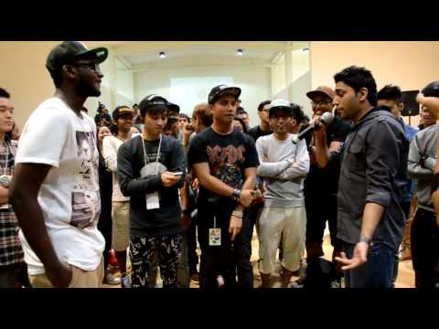 Zee vs Tenaga - Singapore Rap Battles