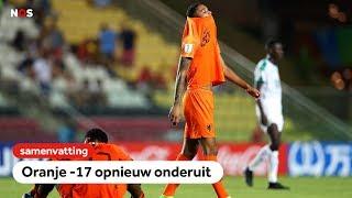 Ook Senegal maatje te groot voor Oranje O17   WK onder 17   NOS Sport