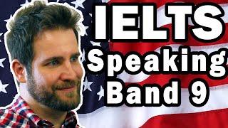 IELTS Speaking USA 2 Native English Band 9