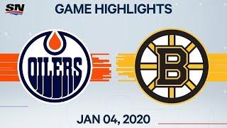 NHL Highlights   Oilers vs. Bruins – Jan. 4, 2020