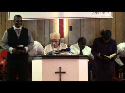 "Pastor Ida Hamilton ""The Power Of Prayer """