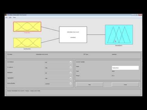 Video Logica Difusa, Matlab y ejemplo Toolbox Matlab - Andrés Burgos- Automatas