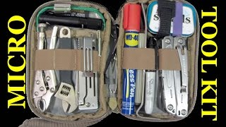 MICRO Pocket Tool Kit: 100 Items for Car, Truck, Bag, Kitchen Drawer etc.