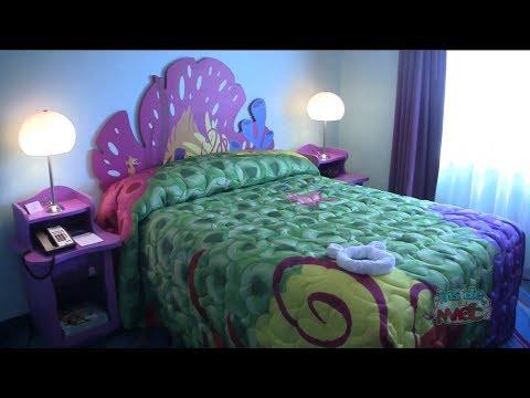 Finding Nemo Room Tour At Disney S Art Of Animation Resort