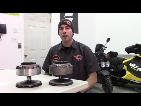 Ski-Doo TRA Clutch disassembly, inspection and assembly by R