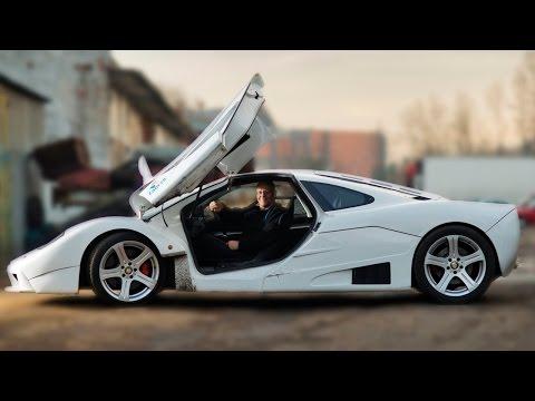 Top Gear Fanatic Builds Replica Of £5,000,000 Supercar From Scrap