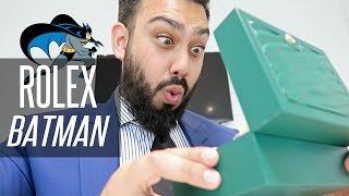 ROLEX BLNR (BATMAN) UNBOXING !!!