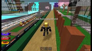Part 3 I WAS JUSTTRAINING AND DIEING AT HE SAME TME [Roblox Ninja Assassain]