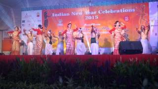 Indian New Year Celebration Singapore - Bihu Dance (LISHA)