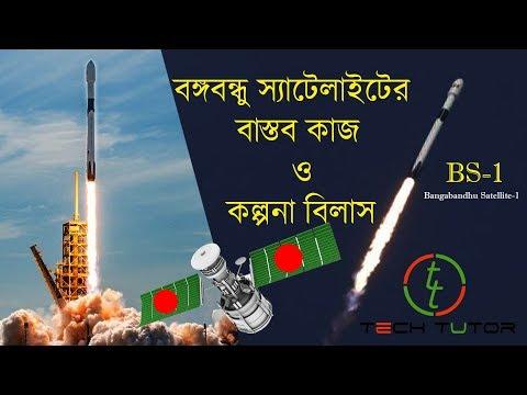 Bangabandhu Satellite 1 Bangladesh | বঙ্গবন্ধু স্যাটেলাইটের বাস্তব কাজ ও কল্পনাবিলাস |  #Tech_Tutor