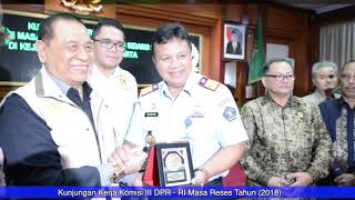 Catatan Akhir, Kinerja Tahun 2018 Kanwil Kemenkumham DKI Jakarta