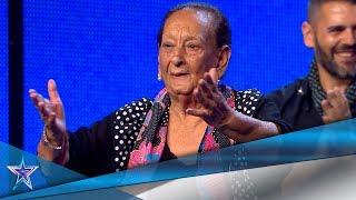 ¡La edad no importa! Mujer de 89 años muestra su BAILE | Audiciones 7 | Got Talent España 5 (2019)
