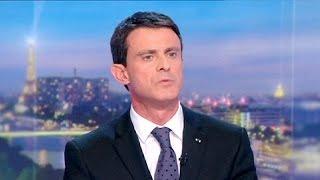 مانول فالس يَّعدُ بضرب داعش في فرنسا وأوروبا وسوريا والعراق     15-11-2015
