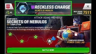TRANSFORMERS: EARTH WARS - NEW STORY MODE - CAMPAIGN 5 - SECRETS OF NEBULOS part 4