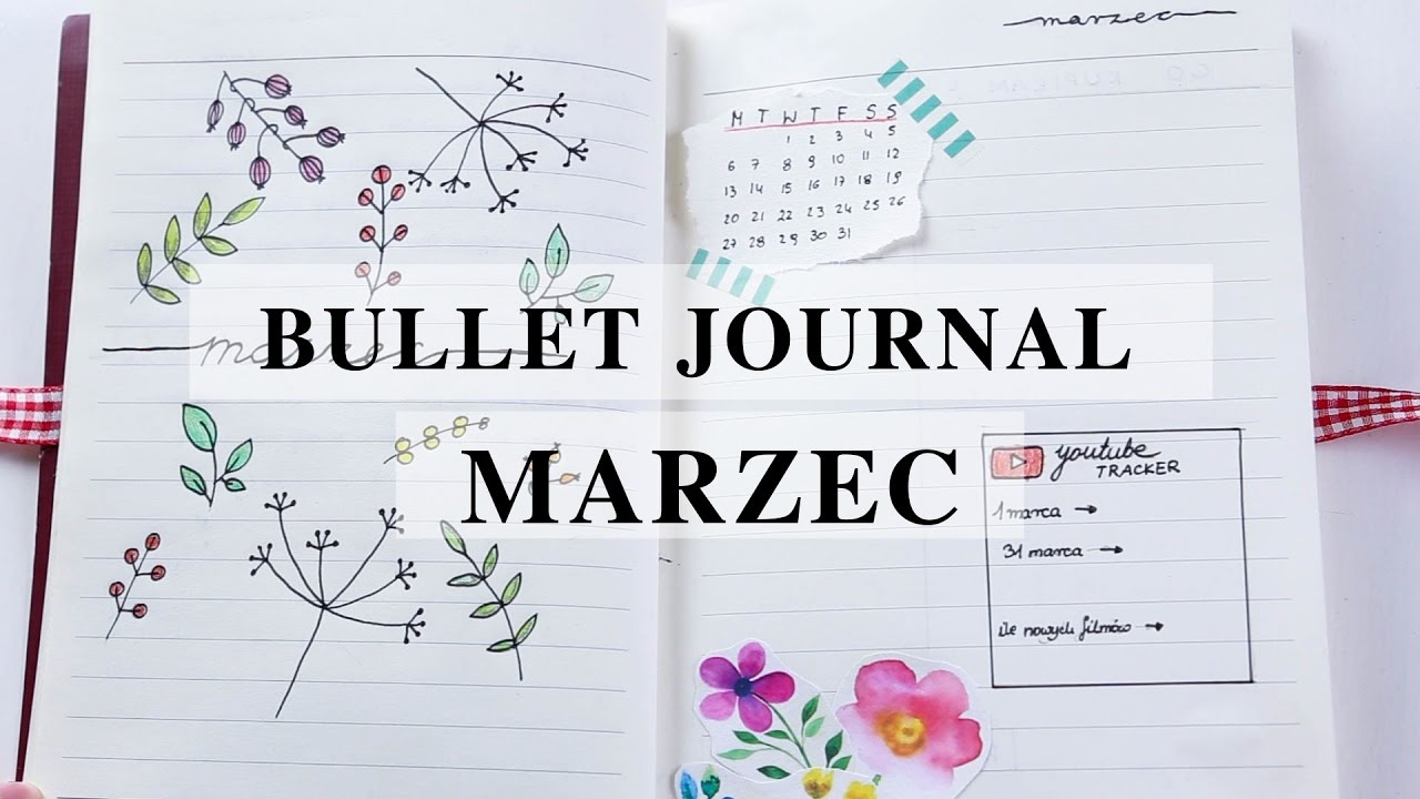 bullet journal marzec madeline youtube. Black Bedroom Furniture Sets. Home Design Ideas