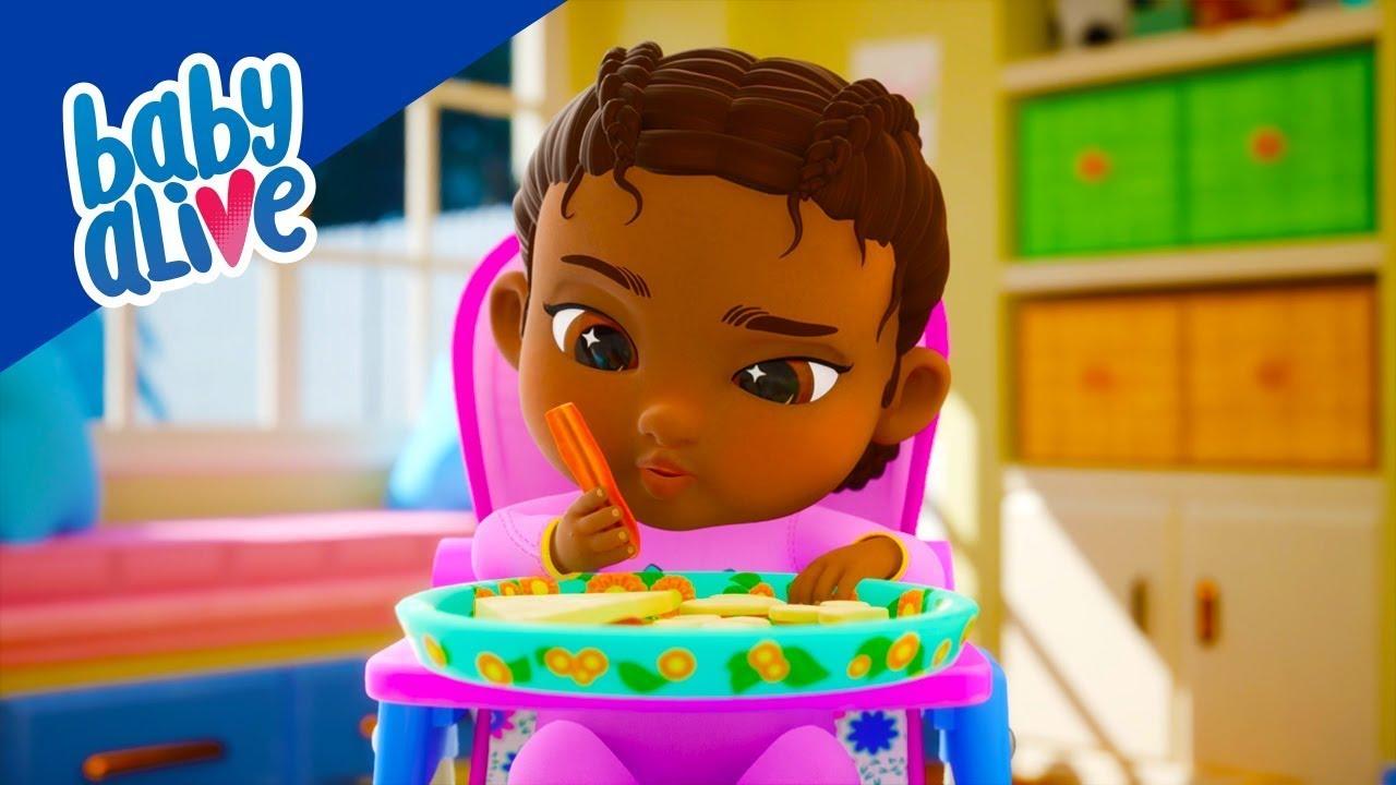 Download ⭐ Baby Alive Türkçe 👶🏻Sebzeler Bizi Güçlü Yapar 👶🏾⭐Tüm Bölümler ⭐ Çocuklar İçin Çizgi Filmler 💕