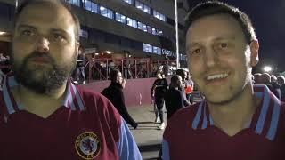 Aston Villa 0 Boro 0 (Agg 1-0) - Villa fans celebrate reaching play-off final
