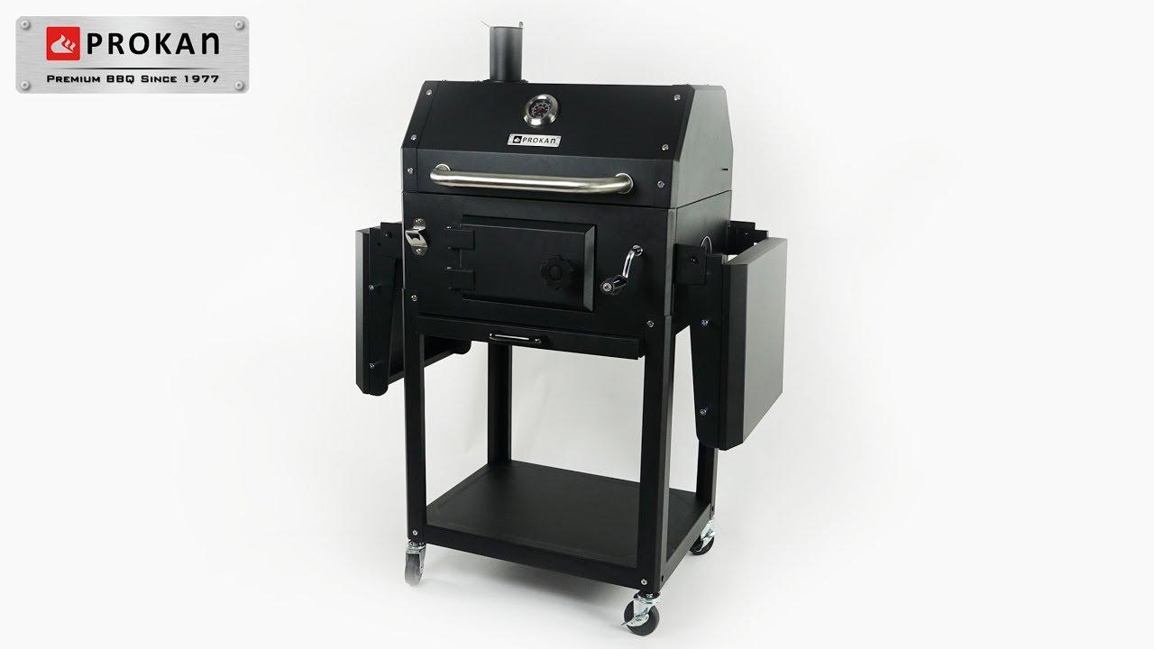Grandhall Holzkohlegrill Xenon Test : Xenon charcoal grill youtube