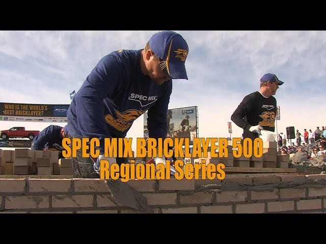 SPEC MIX BRICKLAYER 500 2017 REGIONAL SERIES