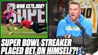 Pat McAfee Reacts To Super Bowl Streaker's Rumored $375,000 Payout