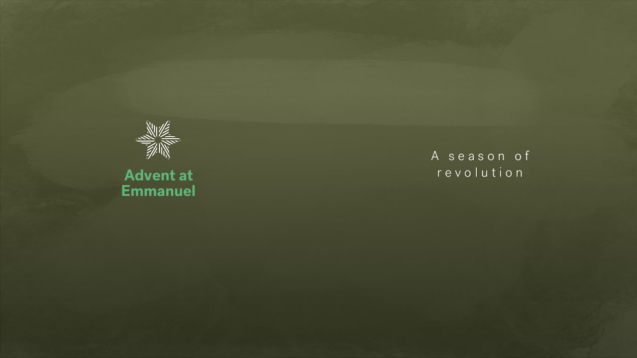Advent: A season of revolution Cover Image