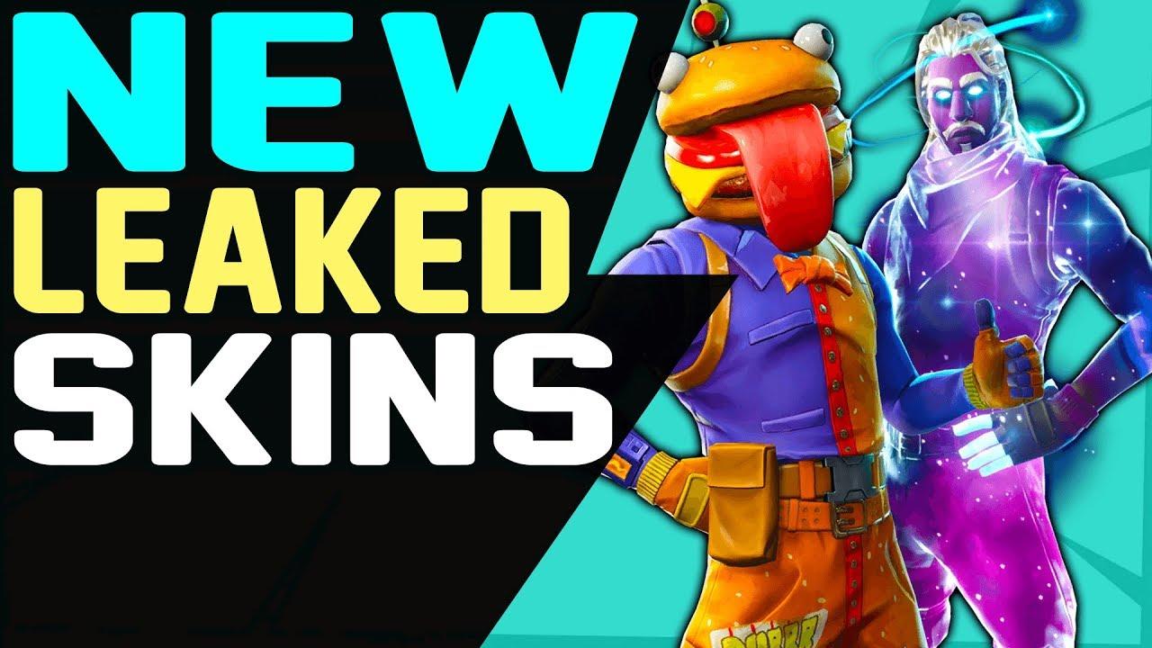 new fortnite leaked skins gliders emotes back blings pickaxes 5 2 update season 5 battle royale - fortnite 52 skins