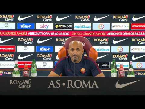 """Conferenza stampa Spalletti: """"Vermaelen non sarà convocato. La punizione per De Rossi è finita"""""""