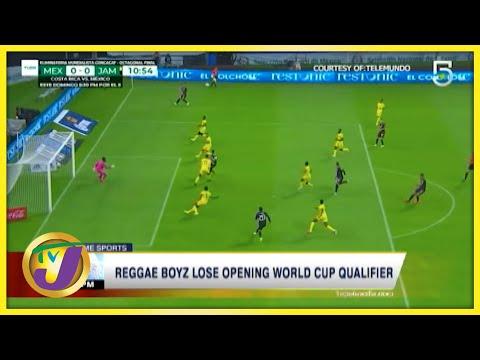 Reggae Boyz Lose Opening World Cup Qualifier - Sept 3 2021