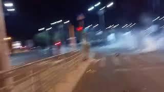 Doi jandarmi, batuti de protestatari
