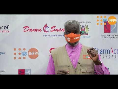 Dr Ademola Olajide - Unity Blood Drive