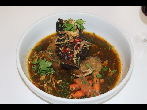 Seared Beef Short Rib Soup - Lovers Special