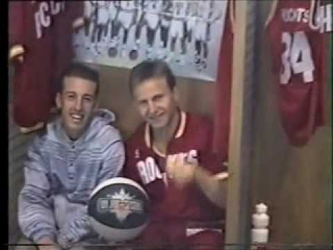 Chidge meets Scott Brooks, Houston Rockets 1994