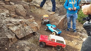 Best RC rock crawler car trip 4x4 Offroad CHILE 2017 Scale 1/10