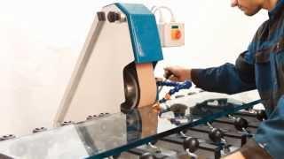 Feroprofil Belt Sander Machine - Flat Glass / pásová Bruska El 230