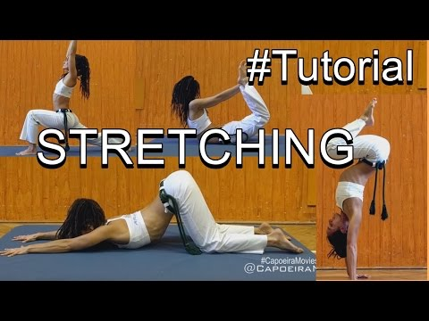 Tutorial #27 Capoeira stretching/Alongameto