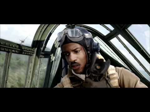 Red Tails Movie Clip #1 - Train Attack (2012) HD