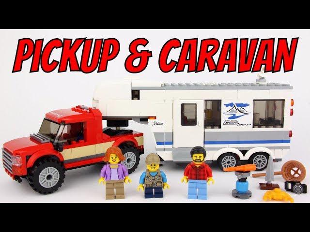 2018 LEGO City Pickup & Caravan 60182 Review!