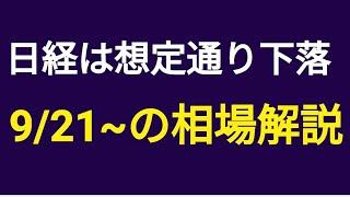 【9/21(火)の注目株と日経平均解説】