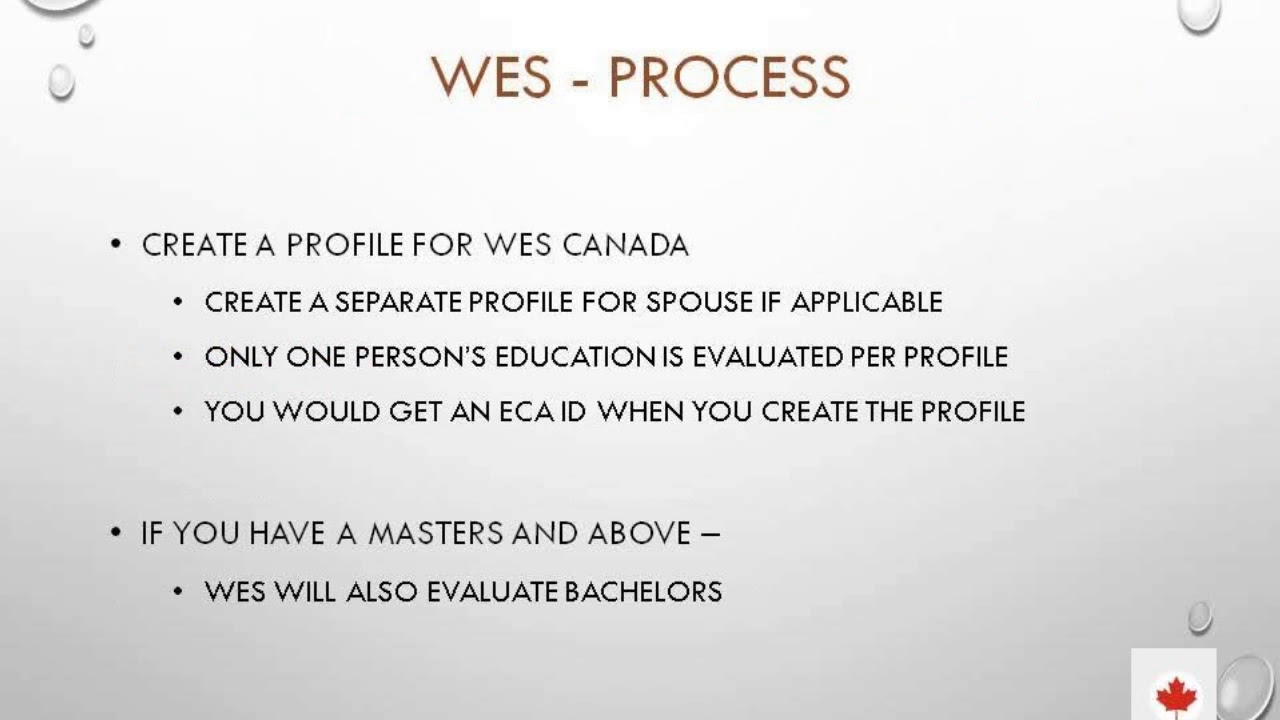 Our Canada Dock: Educational degree evaluation