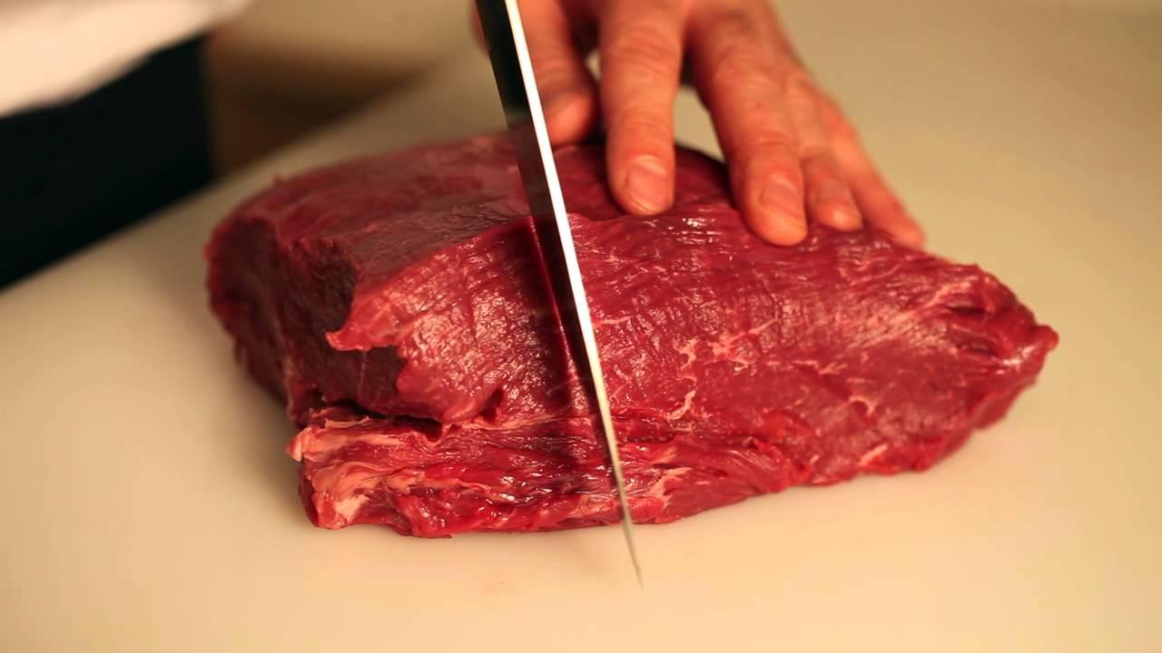 skiva kött tunt